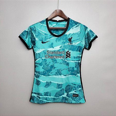 Camisa Liverpool 2020-21  (Away-Uniforme 2)  - Feminina