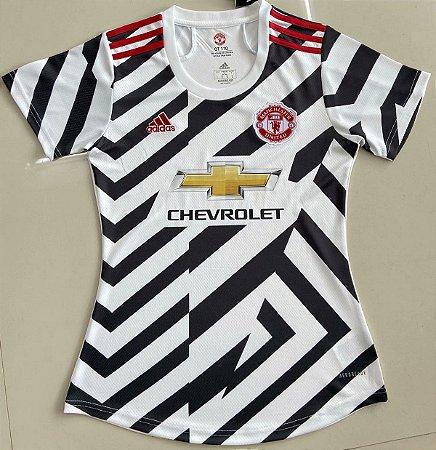 Camisa Manchester United 2020-21  (Third-Uniforme 3)  - Feminina