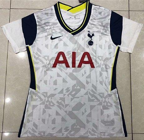 Camisa Tottenham Hotspur 2020-21  (Home-Uniforme 1)  - Feminina