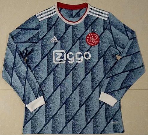 Camisa Ajax 2020-21 (Away-Uniforme 2) - manga longa
