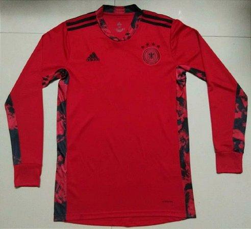 Camisa Alemanha 2020-21 (goleiro) - manga longa