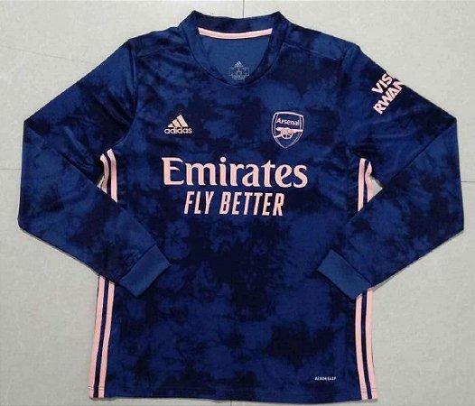 Camisa Arsenal 2020-21 (Third-Uniforme 3)- manga longa