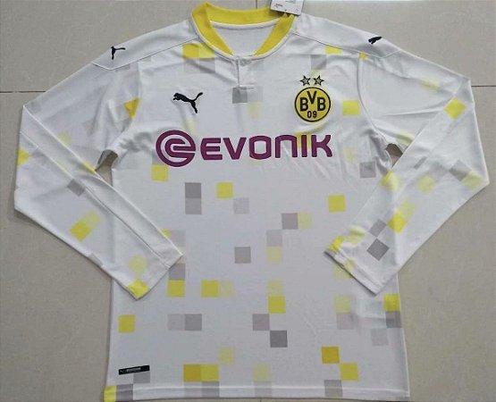 Camisa Borussia Dortmund 2020-21 (Third-Uniforme 3) - manga longa