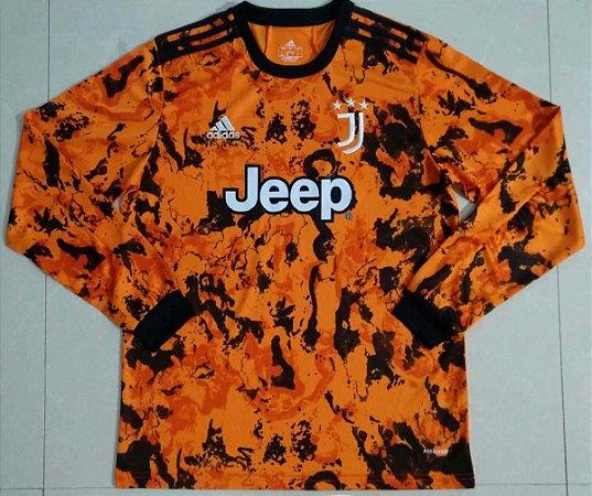 Camisa Juventus 2020-21 (Third-Uniforme 3) - manga longa
