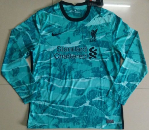 Camisa Liverpool 2020-21 (Away-Uniforme 2) - manga longa