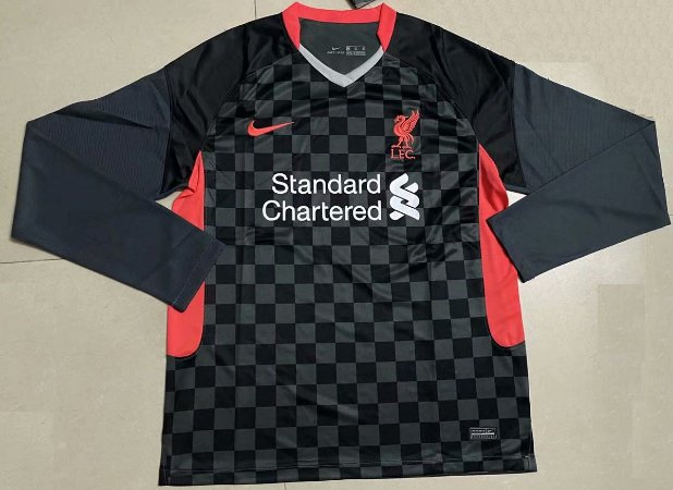 Camisa Liverpool 2020-21 (Third-Uniforme 3) - manga longa