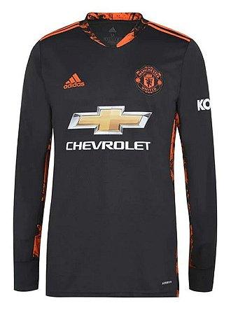 Camisa Manchester United 2020-21 (goleiro) - manga longa