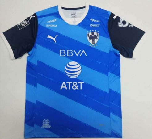 Camisa Monterrey 2020-21 (Away-Uniforme 2)