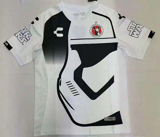 Camisa Tijuana 2019-20 (Star Wars) - branca/preta