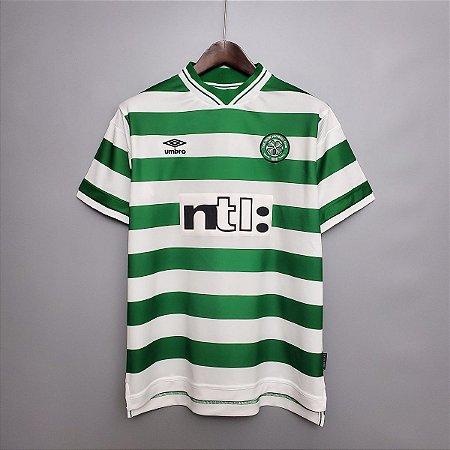 Camisa Celtic 1999-2000 (Home-Uniforme 1)