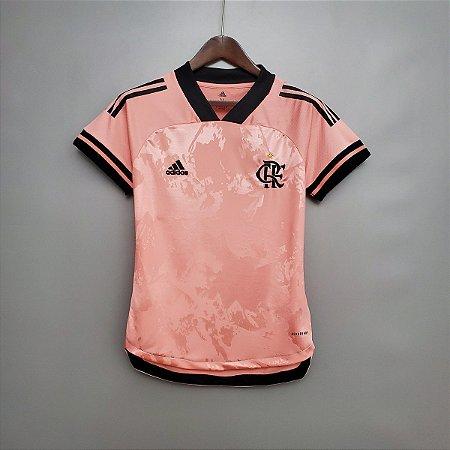 Camisa Flamengo 2020  (Outubro-Rosa)  - Feminina