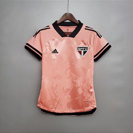 Camisa São Paulo 2020  (Outubro Rosa)  - Feminina