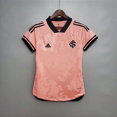 Camisa Inter-RS 2020  (Outubro Rosa)  - Feminina