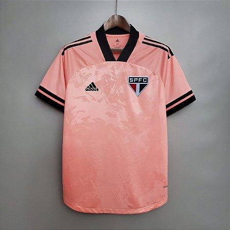Camisa São Paulo 2020 (Outubro Rosa) - sem patrocínios