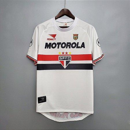 Camisa São Paulo 1999-2000 (Home-Uniforme 1)