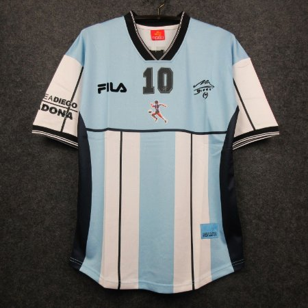 Camisa Argentina 2001 (Comemorativa - Maradona)