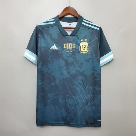 Camisa Argentina 2020-21 (Uniforme 2) - Edição Especial (Maradona)