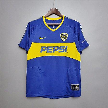 Camisa Boca Juniors 2003-2004 (Home-Uniforme 1)