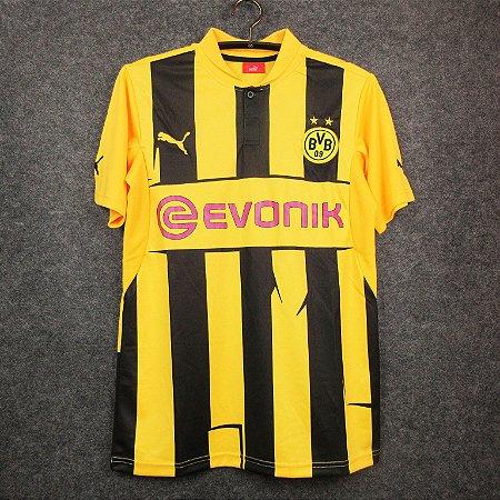 Camisa Borussia Dortmund 2012-2013 (Home-Uniforme 1)