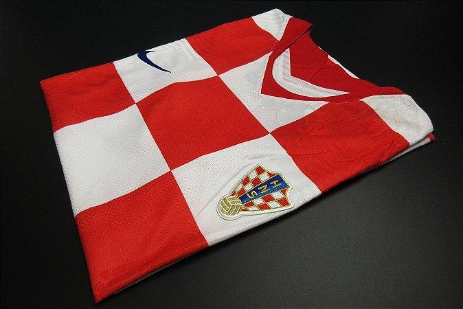 Camisa Croácia 2020-21 (Home-Uniforme 1) - Modelo Jogador
