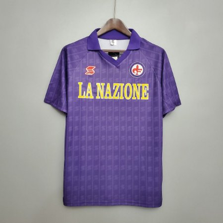 Camisa Fiorentina 1989-1990 (Home-Uniforme 1)