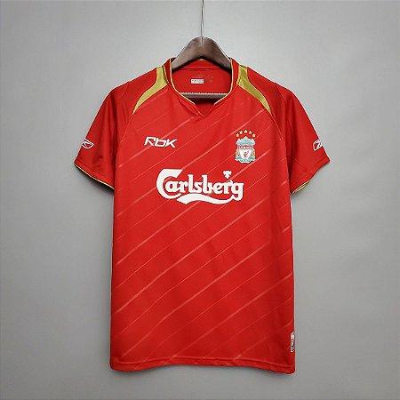 Camisa Liverpool 2005-2006 (Home-Uniforme 1)