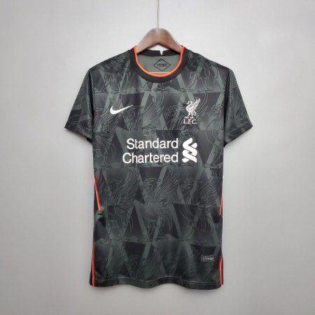 Camisa Liverpool 2020-21 (treino - cinza)