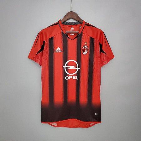 Camisa Milan 2004-2005 (Home-Uniforme 1)