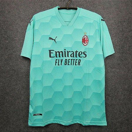 Camisa Milan 2020-21 (goleiro - verde)