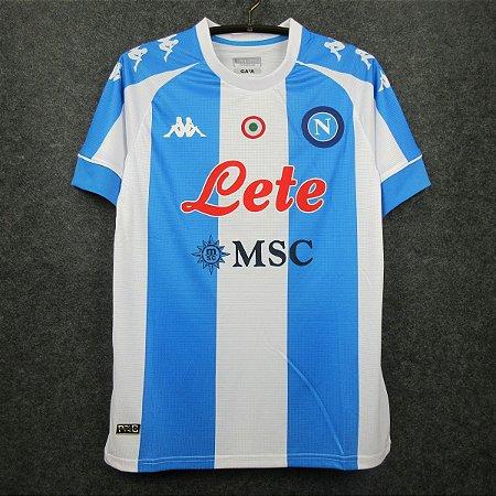 "Camisa Napoli 2020-21 (Fourth-Uniforme 4) - Homenagem ""Maradona"""