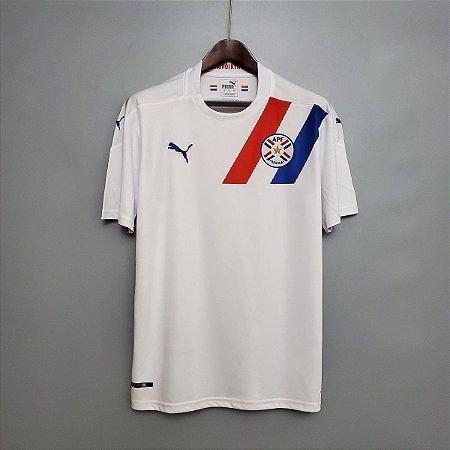 Camisa Paraguai 2020-21 (Away-Uniforme 2)