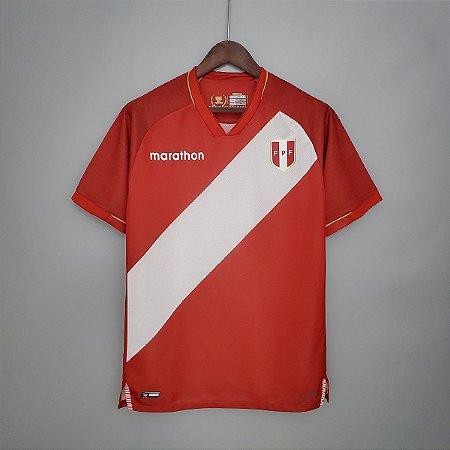 Camisa Peru 2020-21 (Away-Uniforme 2)