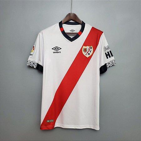 Camisa Rayo Vallecano 2020-21 (Home-Uniforme 1)