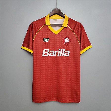 Camisa Roma 1990-1991 (Home-Uniforme 1)