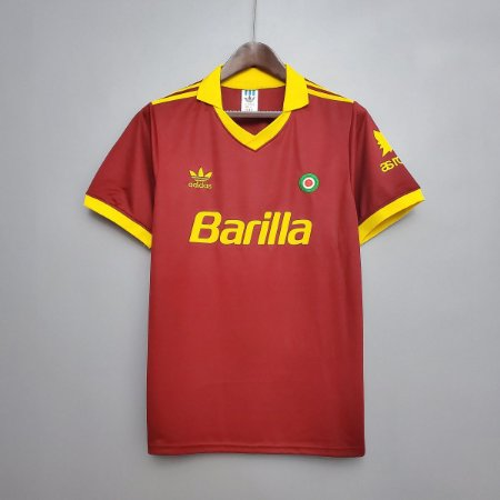 Camisa Roma 1991-1992 (Home-Uniforme 1)