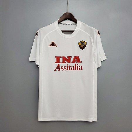 Camisa Roma 2000-2001 (Away-Uniforme 2)