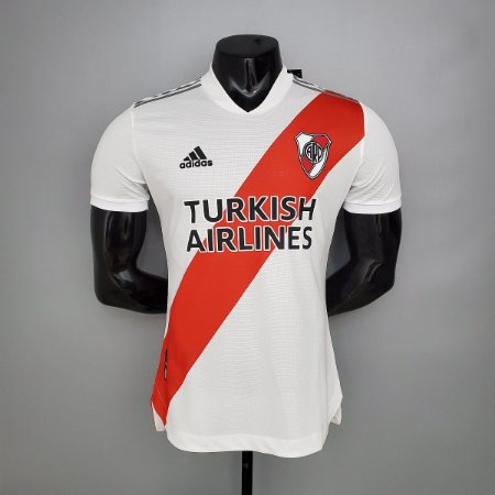 Camisa River Plate 2020-21 (Home-Uniforme 1) - Modelo Jogador