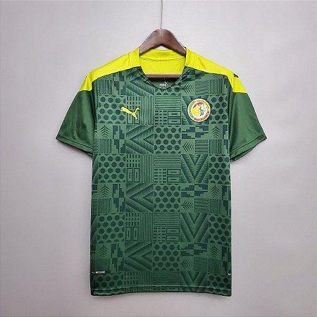 Camisa Senegal 2020-21 (Away-Uniforme 2)