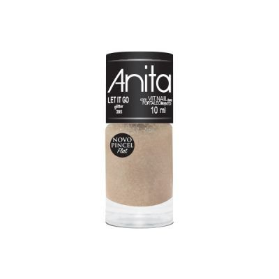 "Esmalte ""Anita"" 10ml Glitter Let it Go 395"