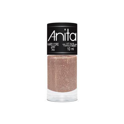 """Esmalte """"Anita"""" 10ml Glitter Hard Core 382"""