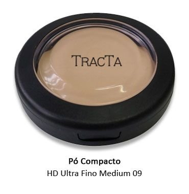 Pó Compacto HD Ultra Fino Medium 09 - 9g