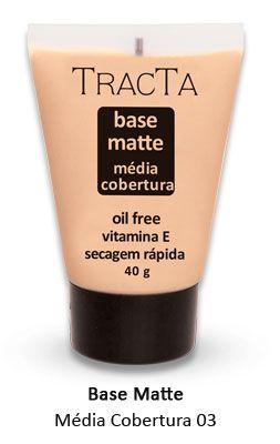 """Base Matte média cobertura 03 """"Tracta"""""""