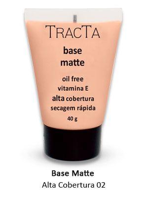"""Base Matte Alta cobertura 02 """"tracta"""" - 40g"""