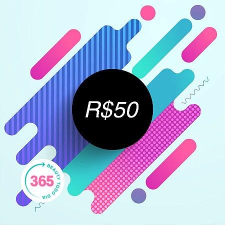 CARTÃO VALE PRESENTE R$50,00