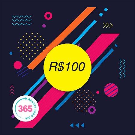CARTÃO VALE PRESENTE R$100,00