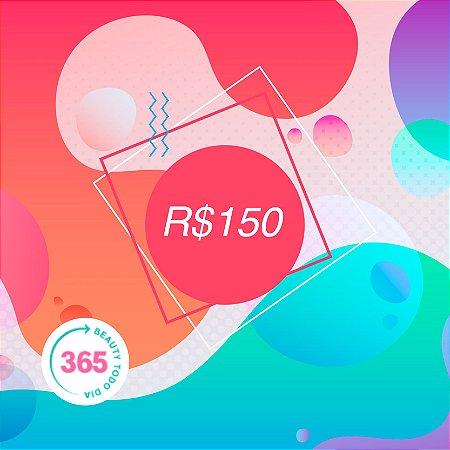 CARTÃO VALE PRESENTE R$150,00