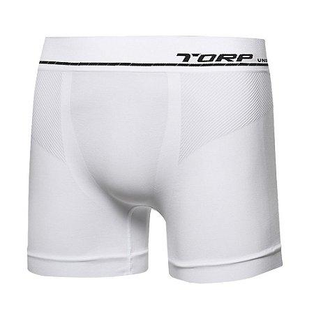 Cueca Torp Boxer - Microfibra Sem Costura Cor Branca - R8014