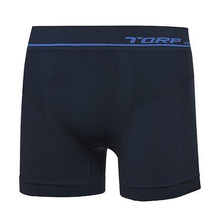 Cueca Torp Boxer - Microfibra Sem Costura Cor Marinho -R8014