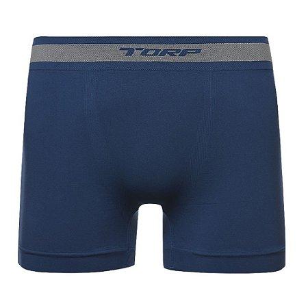 Cueca Torp Boxer Microfibra Sem Costura Azul Jeans - R8017