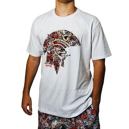 Camiseta Kevland Grafite II Branco